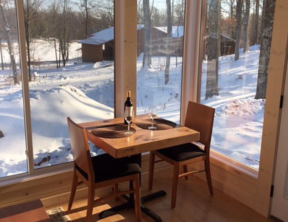 Dining Table in Sun Room