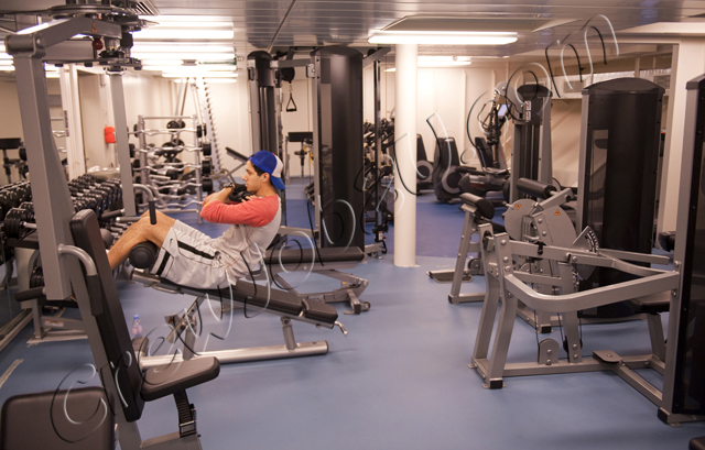 Спортивный зал для crew