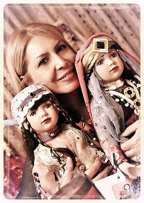 Yoli's dolls, Ethnic persian dolls about