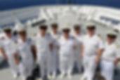 Офицеры на круизных лайнерах