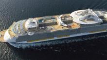 Самый большой круизный лайнер в мире!