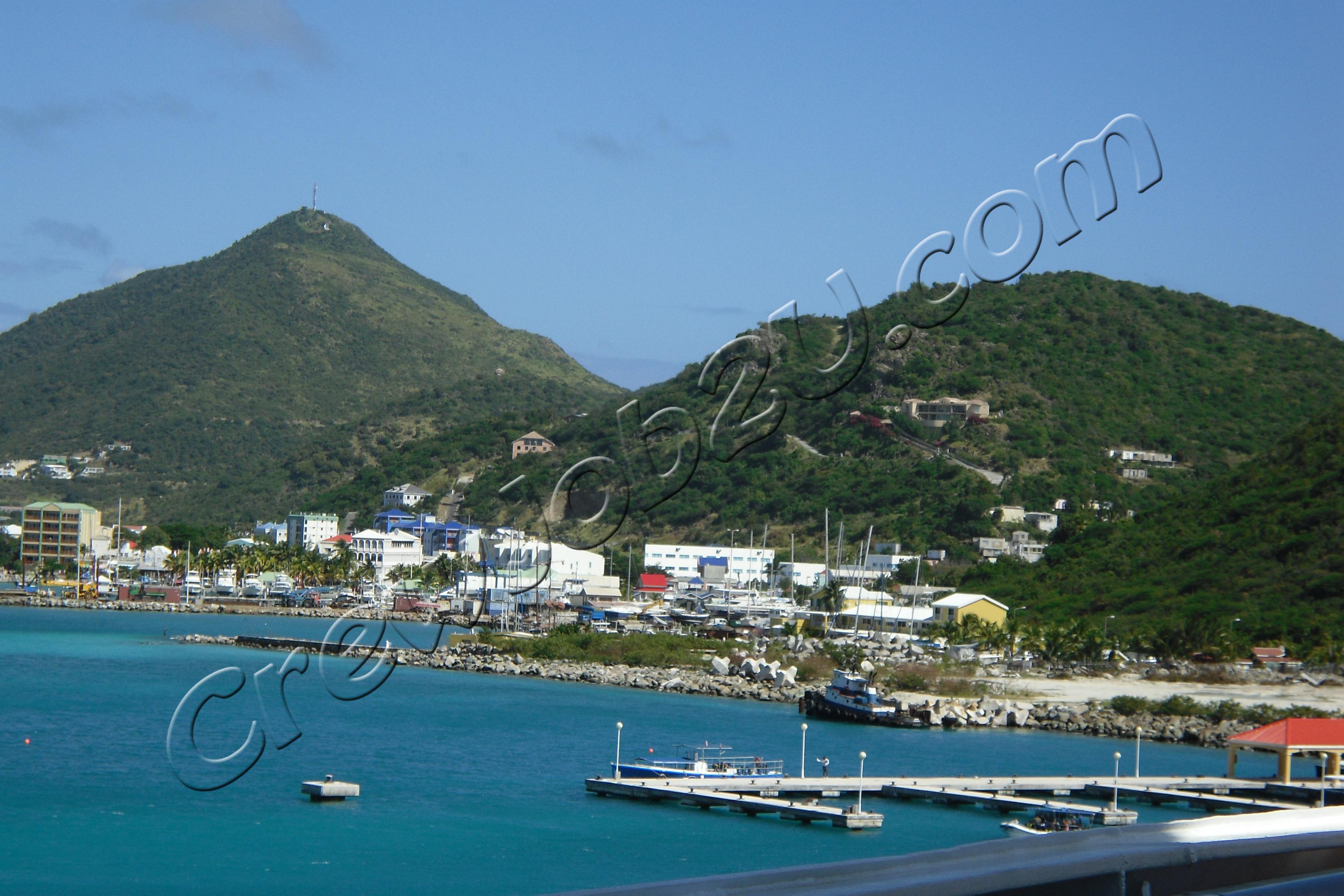 St.Maartin island