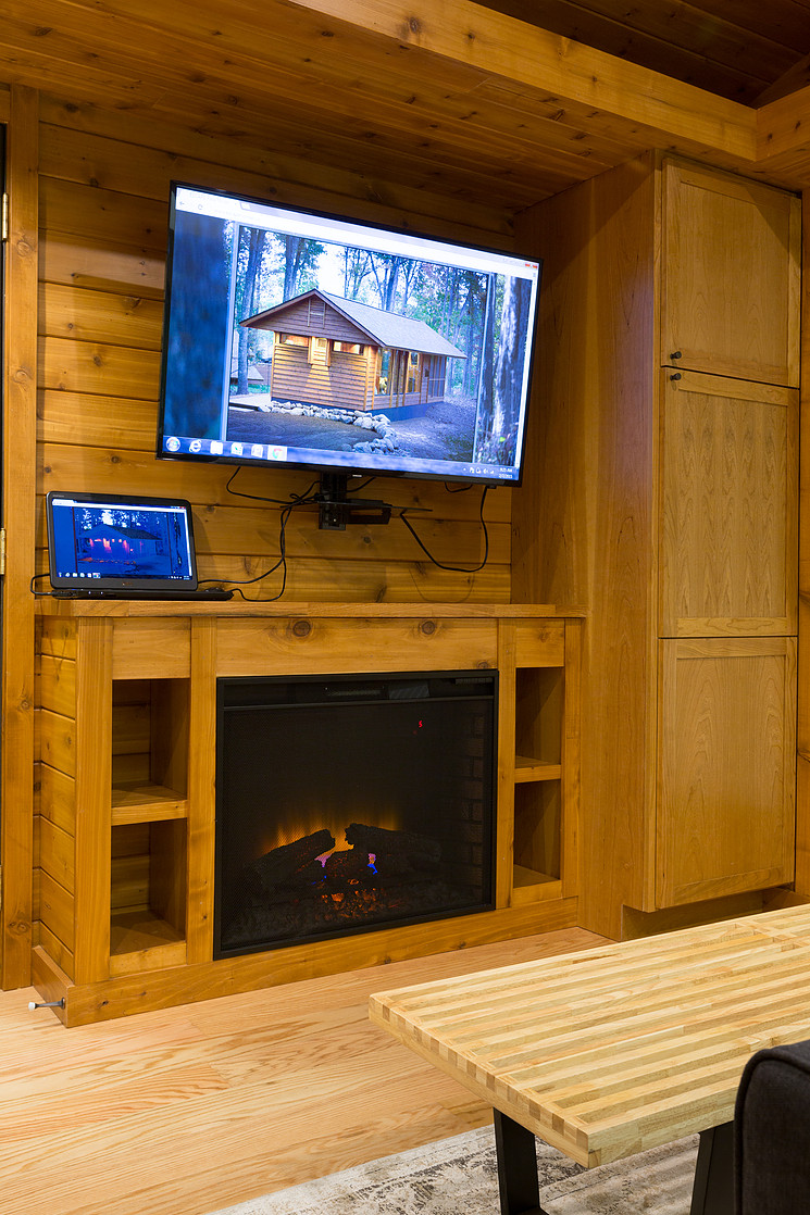 Fireplace in Escape