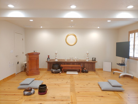 OPENING CEREMONY OF WON BUDDHIST TEMPLE OF AUSTIN COMING THIS NOVEMBER