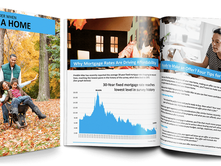 Fall Home Buyer Guides
