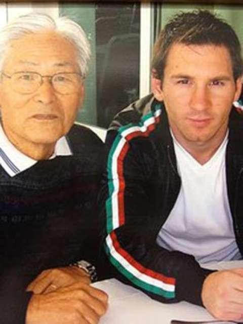 Lionel Messi é um dos clientes VIP de Fumio Takahashi