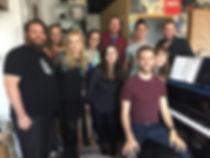 Barnyard Follies recording cast, Broadway singers