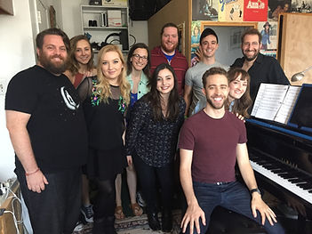 Barnyard Follies recording cast, Broadway singers