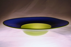 Blue and Green Incalmo bowl