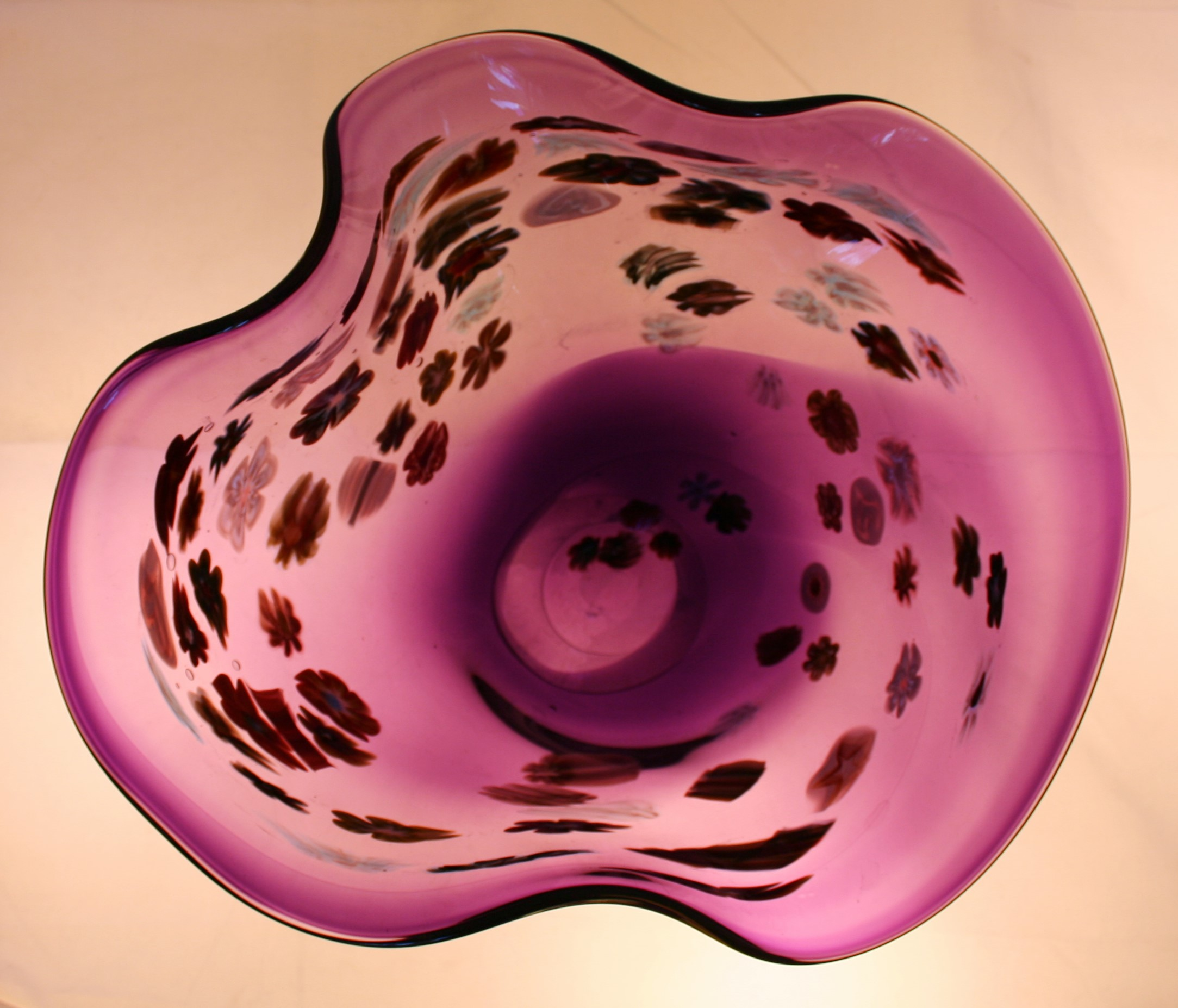 Purple and Murini vase