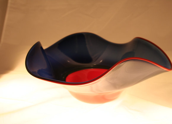 Blue and Red Incalmo Bowl