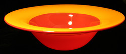 Red and Yellow Incalmo bowl