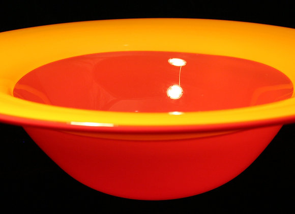 Yellow and Red Incalmo Bowl