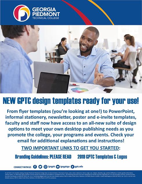 New design templates announcement for fa