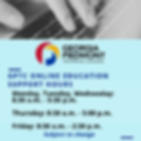 GPTC Online Education Support Hours - Fa