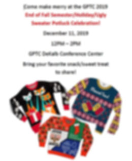 holiday 2019 - Ugly Sweater gathering -