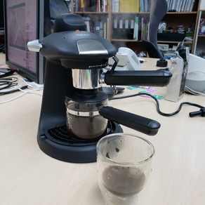 Testing a new 15bar coffee machine from Taobao