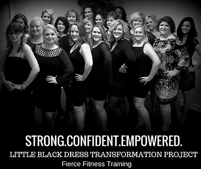 Fierce Fitness Training | Fitness For Women | Little Black Dress Fitness & Confidence Program | Evans GA