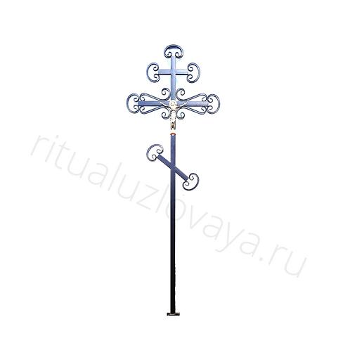Крест православный металлический