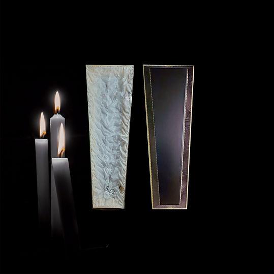 Гробы деревянные тканевые