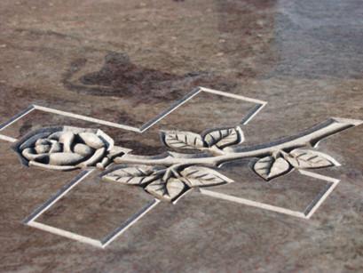 Укладка плитки на могиле,  отделка надгробий, тротуарная плитка, благоустройство захоронений.