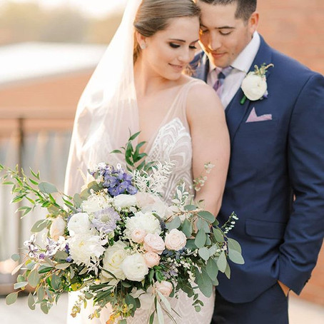 Jon and Katie: A boho floral wedding full of candle light!