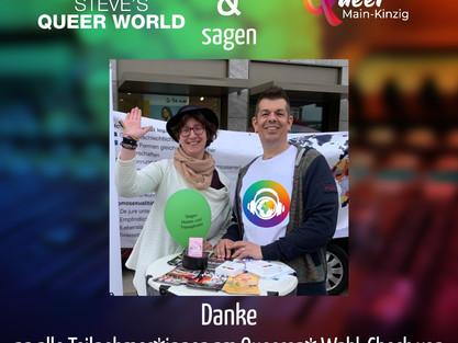 Queerer* Wahl-Check bei Steve's Queer World bei Radio MKW