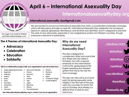 Erster internationaler Tag der Asexualität