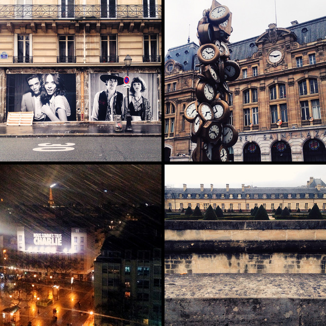 Париж, январь '15