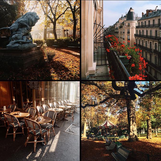 Париж, октябрь '15