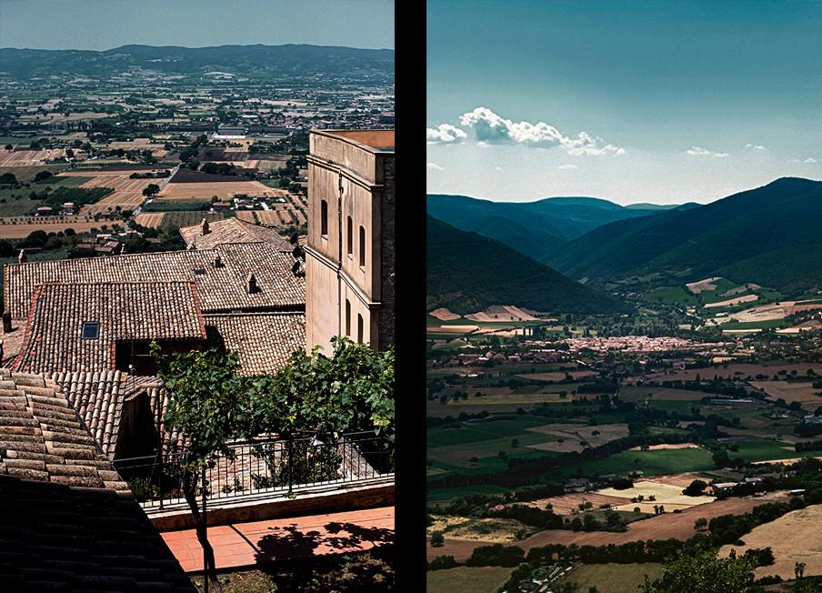 Assisi, Monti Sibillini