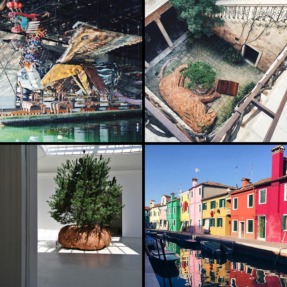 Китайский павильон, Венеция, французский павильон, остров Бурано