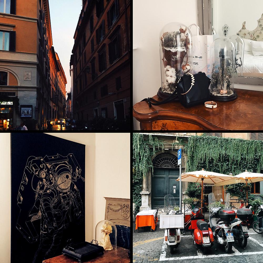 Rome, hotel Angelika B&B
