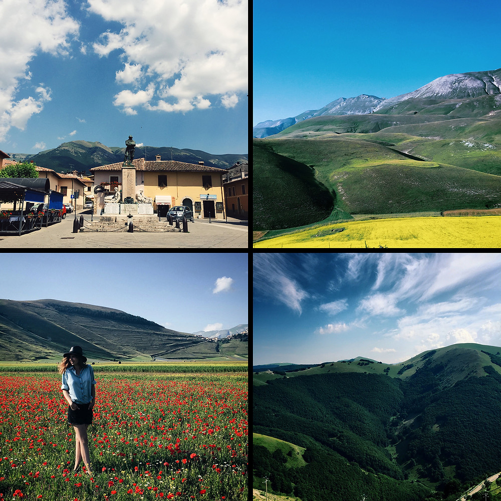 Norchia, Castelluccio di Norchia, Monti Sibillini