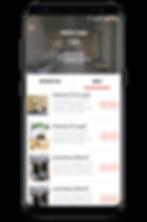 App Menu Page