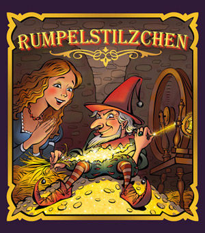 Rumpelstilzchen Märchen Illustration Rechte Tournee Theater Hamburg
