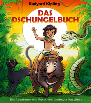 Dschungelbuch Märchen Illustration Rechte Tournee Theater Hamburg