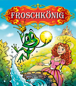 Froschkönig Märchen Illustration Rechte Tournee Theater Hamburg