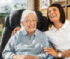 Care in an aged care facility