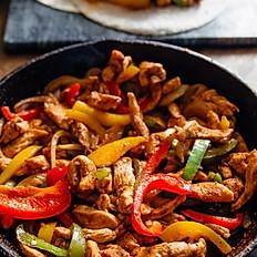 Chicken Fajitas /  Fajitas de Pollo