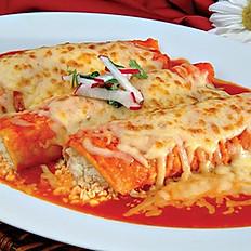 Enchiladas  - Chicken or Cheese / Pollo or Queso