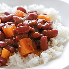 Marinated Red Kidney Beans /  Habichuelas