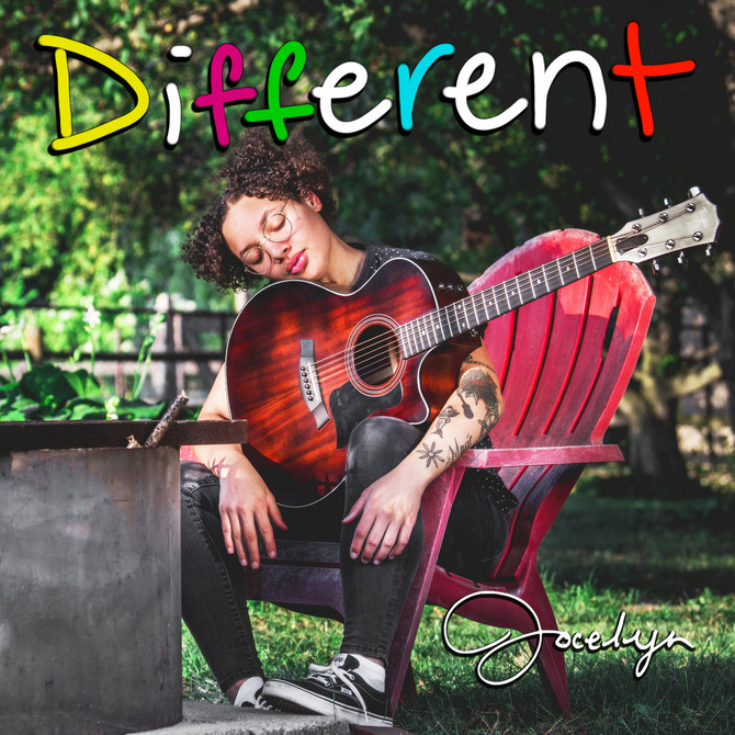 "JOCELYN TO RELEASE NEW ALBUM ""DIFFERENT""!"