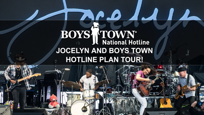 Jocelyn and Boys Town National Hotline Plan Tour!