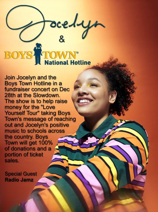 Jocelyn and Boys Town Team Up!