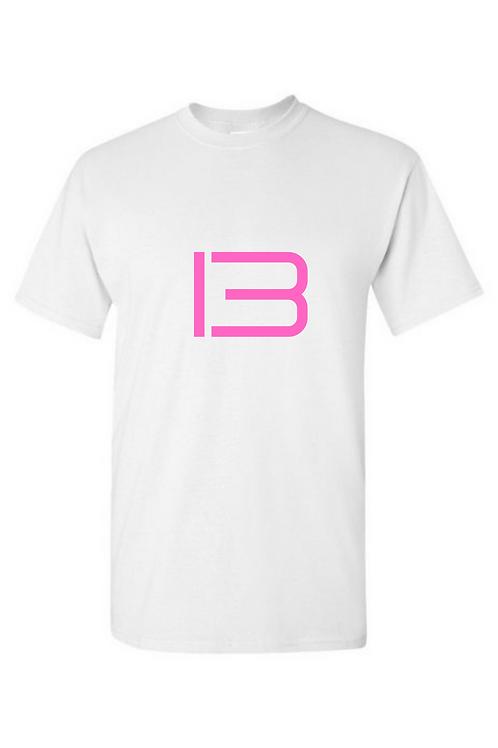 """""""13"""" Pink Text T-Shirt"""