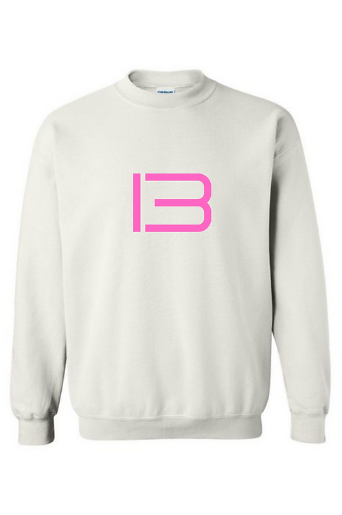 """""""13"""" Pink Text Cre"""