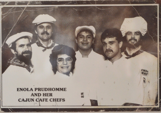 Chef John training with the Prudhomme