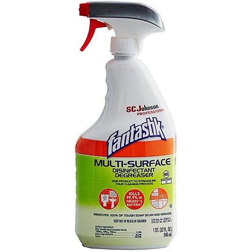 Fantastik Multi-Surface Disinfectant Degreaser Spray