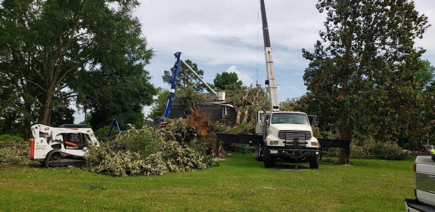 Ball Louisiana Tornado Damage Clean up